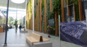 Biophilic Wall at Alliander HQ