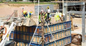 Bushey Cemetery Construction
